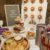 Doughnut wall and party food