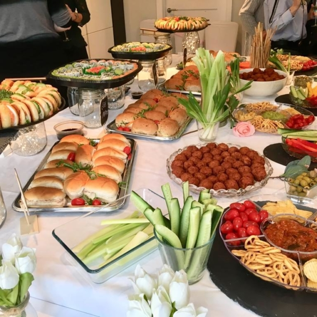 party food buffet
