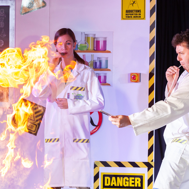 Dragons Breath Exciting Science